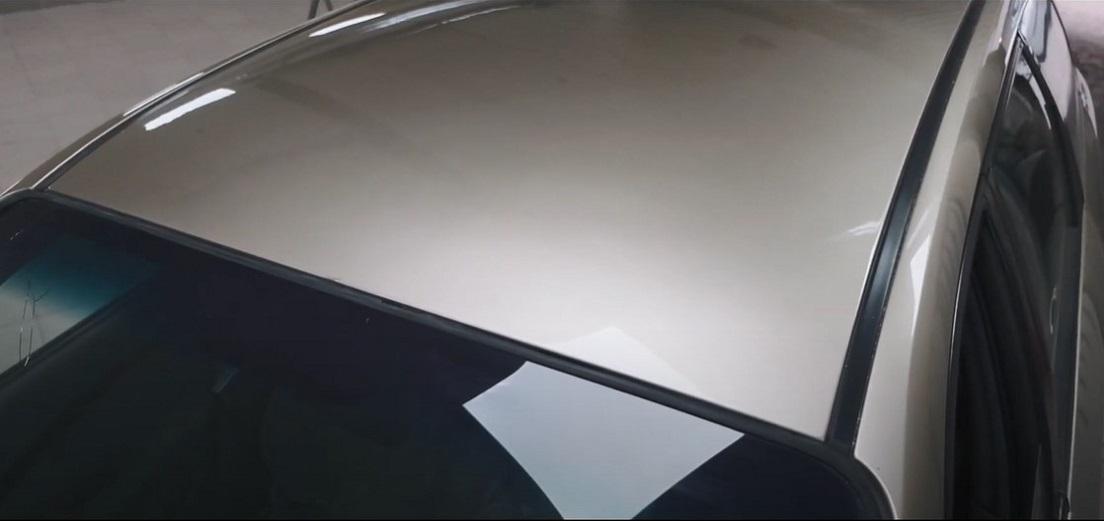удаление вмятины на крыше авто фото после ремонта