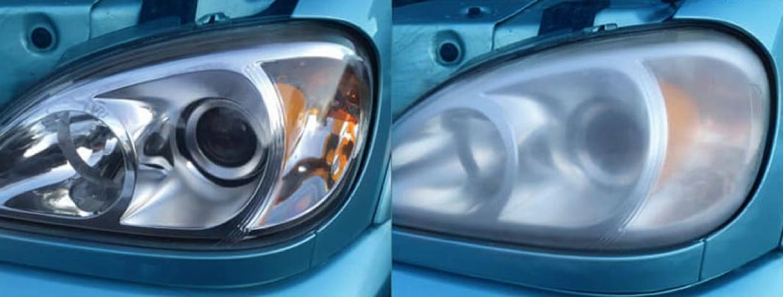 полировка фар до и после фото